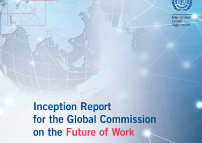 Inception Report for the Global Commission on the Future of Work