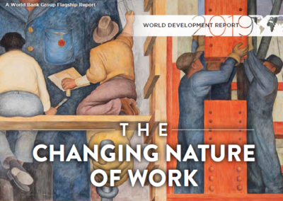 The World Development Report 2019: The Changing Nature of Work