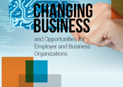 Future of Work: Changing business and opportunities for employer and business organizations