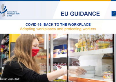 COVID-19: Back to the workplace – Adapting workplaces and protecting workers