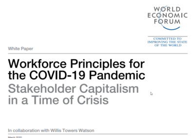 Workforce Principles for the COVID-19 Pandemic: Stakeholder Capitalism in a Time of Crisis