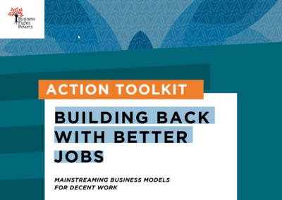 Action Toolkit: Building Back with Better Jobs.