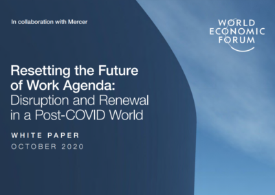 Resetting the Future of Work Agenda: Disruption and Renewal in a Post-COVID World