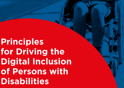 Principles for Driving the Digital Inclusion of Persons with Disabilities