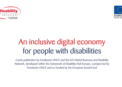 An inclusive digital economy for people with disabilities